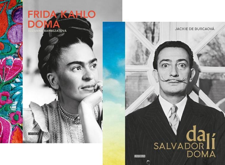 Komplet Frida Kahlo doma + Salvador Dalí doma