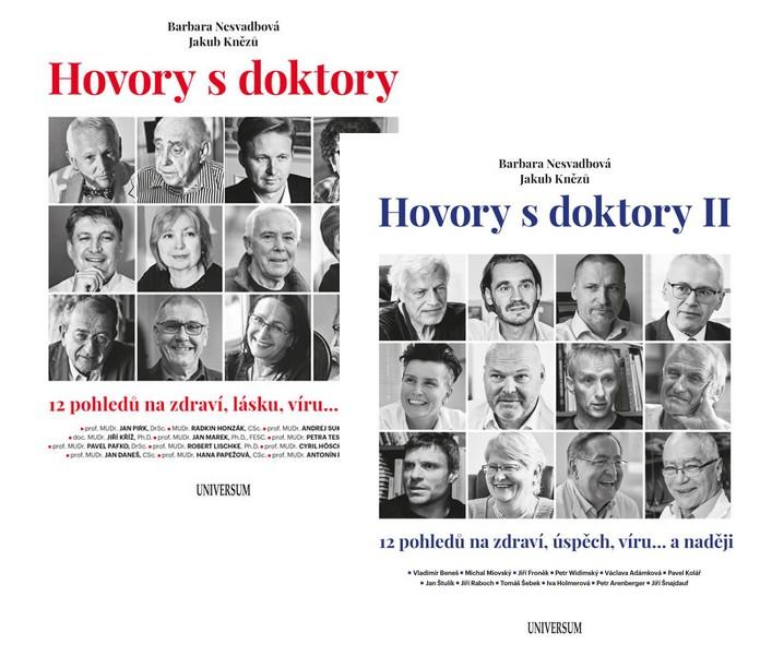 Komplet Hovory s doktory + Hovory s doktory II