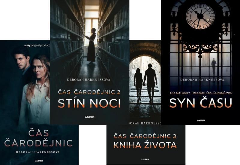 Komplet Čas čarodějnic + Stín noci + Kniha života + Syn času
