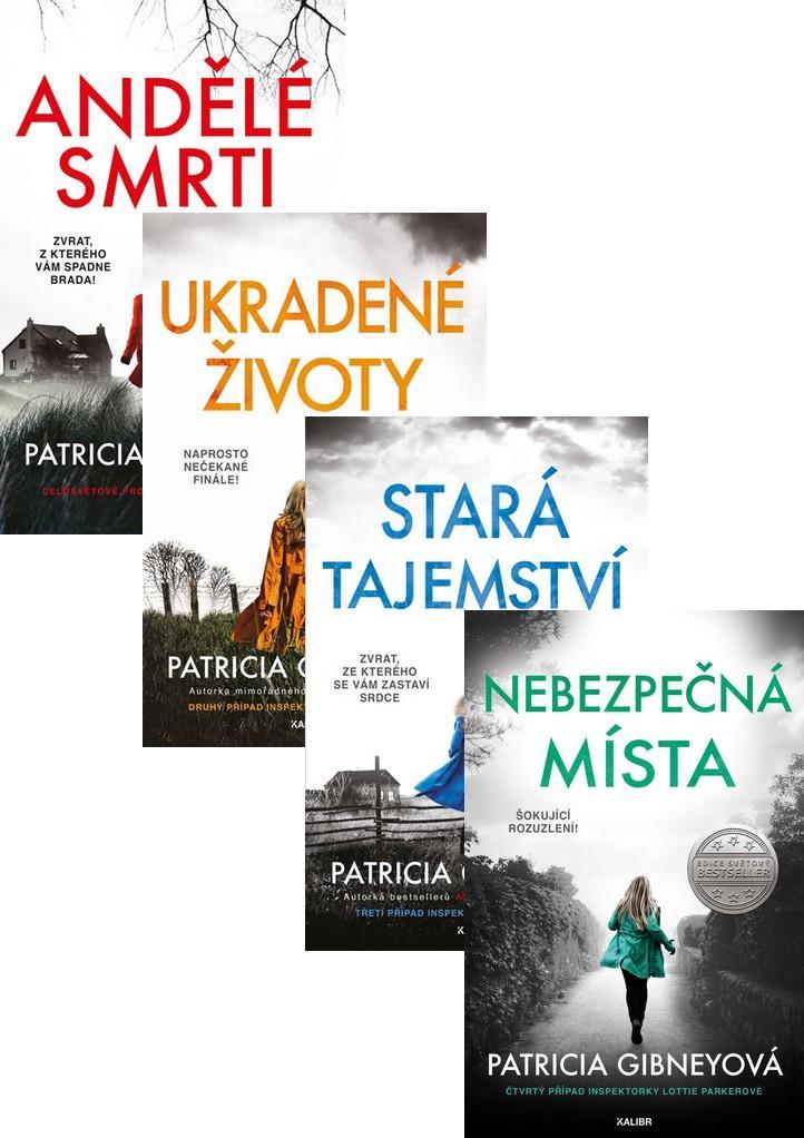 Komplet Inspektorka Lottie Parkerová: Andělé smrti + Ukradené životy + Stará tajemství + Nebezpečná místa