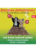 Krtkova dobrodružství 2 - Jak Krtek uzdravil myšku - CD