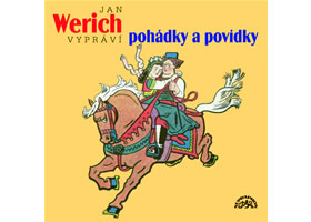 Jan Werich vypráví pohádky a povídky - CD