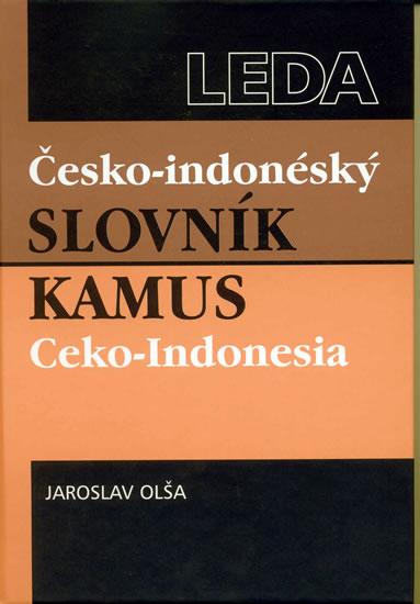 ČESKO-INDONÉSKÝ SLOVNÍK.KAMUS CEKO-INDONÉSIA