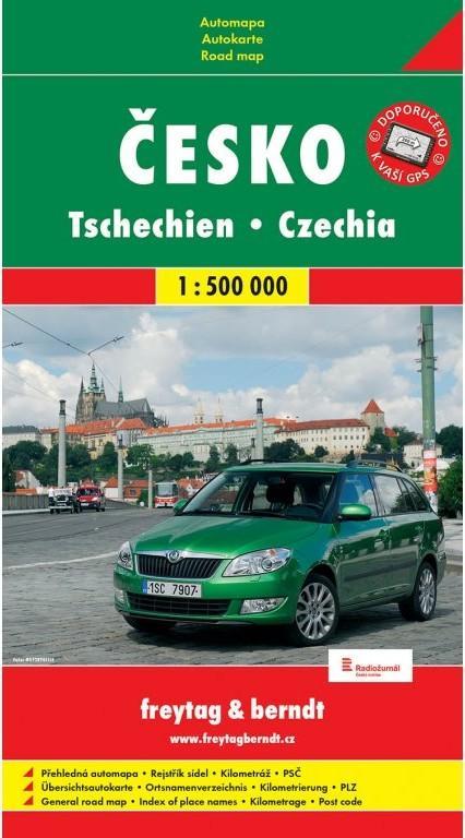 ČESKO 1:500 000