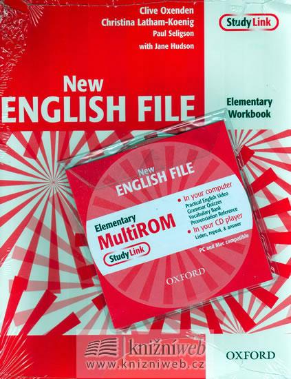 NEW ENGLISH FILE ELEMENTARY WB+CD