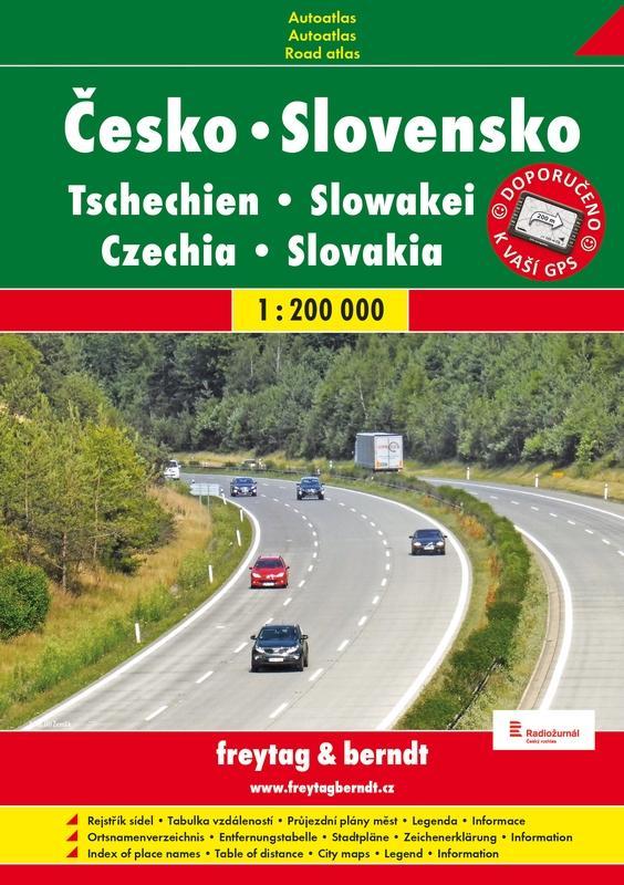 ČESKÁ REPUBLIKA SLOVENSKÁ REPUBLIKA 1:200 000