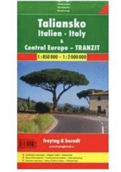 ITÁLIE AUTOMAPA 1:850000