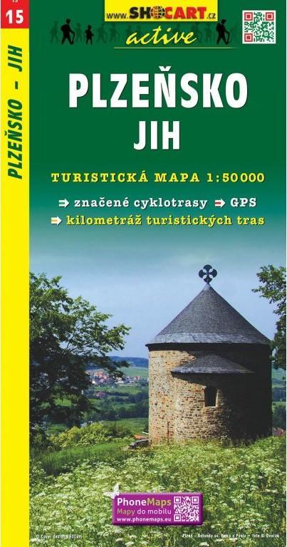 PLZEŇSKO JIH TMČ.15 1-50000