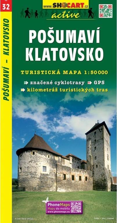 POŠUMAVÍ KLATOVSKO TMČ.32 1-50000
