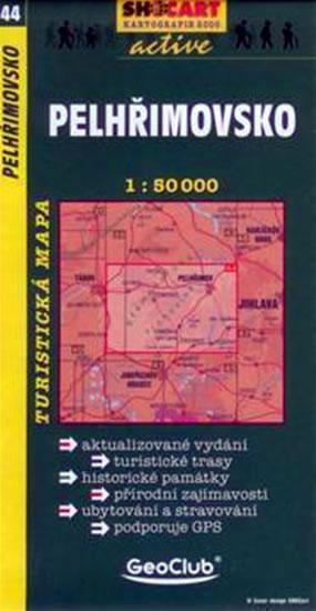 PELHŘIMOVSKO TMČ.44 1-50000