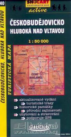 ČESKOBUDĚJOVICKO HLUBOKÁ NAD VLTAVOU TMČ.40,1-50000