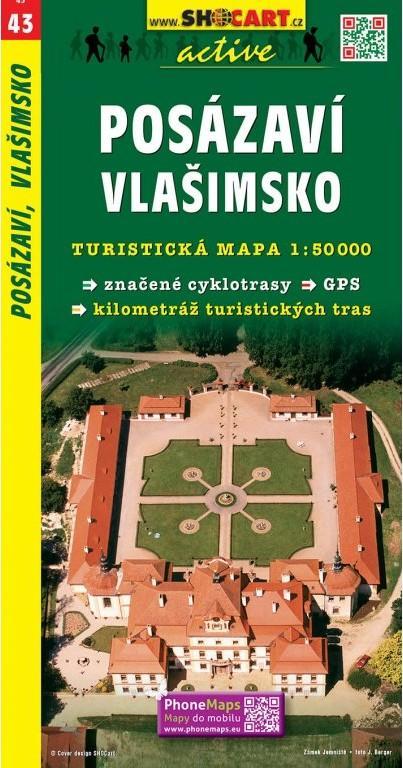 POSÁZAVÍ VLAŠIMSKO TMČ.43 1-50000