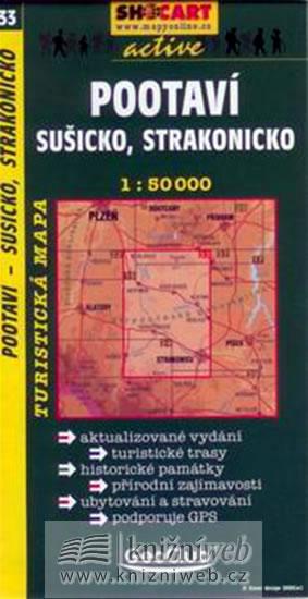 POOTAVÍ SUŠICKO STRAKONICKO TMČ.33 1-50000