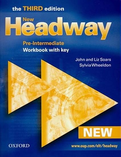 NEW NEW HEADWAY PRE-INTERMEDIATE WB 3.VYDÁNÍ