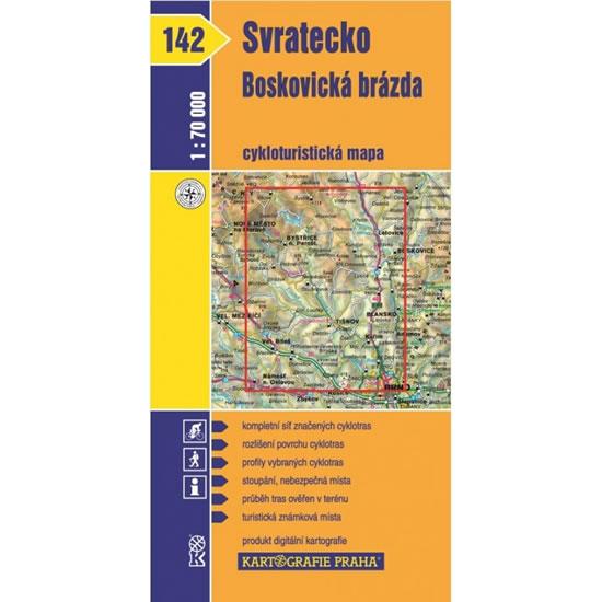 CYKLO Č.142 SVRATECKO /BOSKOVICKÁ BRÁZDA
