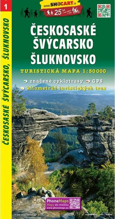 ČESKOSASKÉ ŠVÝCARSKO ŠLUKNOVSKO ČTM 1 1-50000