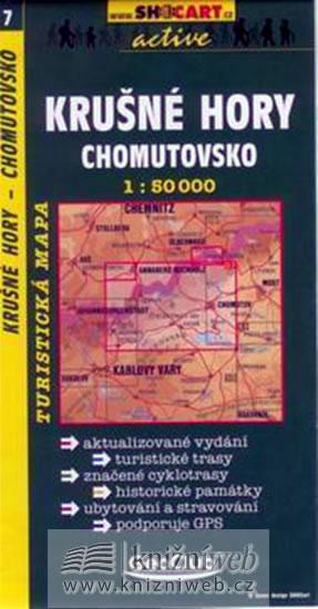 KRUŠNÉ HORY CHOMUTOVSKO TMČ.7 1-50000