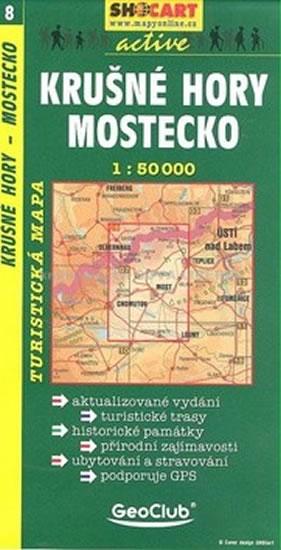 KRUŠNÉ HORY MOSTECKO TMČ.8 1-50000
