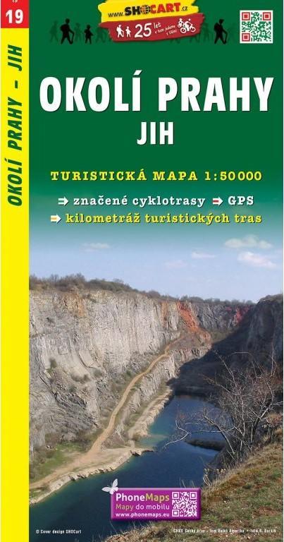 OKOLÍ PRAHY JIH TMČ 19 1-50000