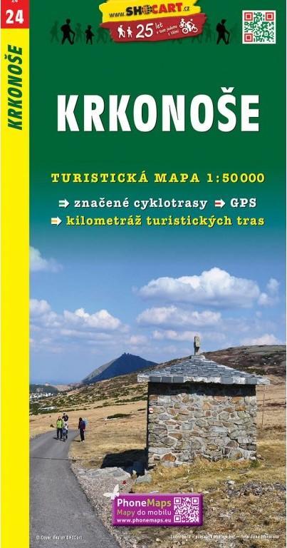 KRKONOŠE TMČ.24 1-50000