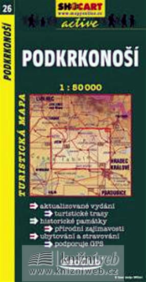 PODKRKONOŠÍ TMČ.26 1-50000