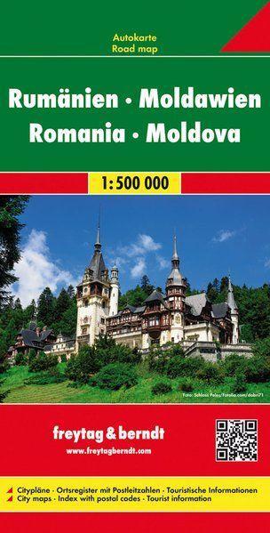 RUMUNSKO MOLDÁVIE 1:500 000