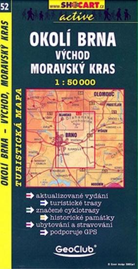 OKOLÍ BRNA VÝCHOD MORAVSKÝ KRAS