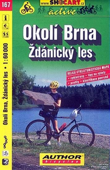 OKOLÍ BRNA ŽDÁNICKÝ LES CMČ.167