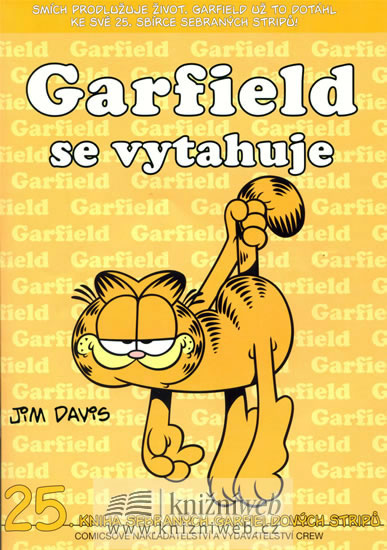 GARFIELD SE VYTAHUJE (Č.25)