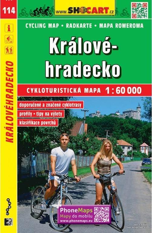 KRÁLOVÉ-HRADECKO 114 CYKLOTURISTICKÁ
