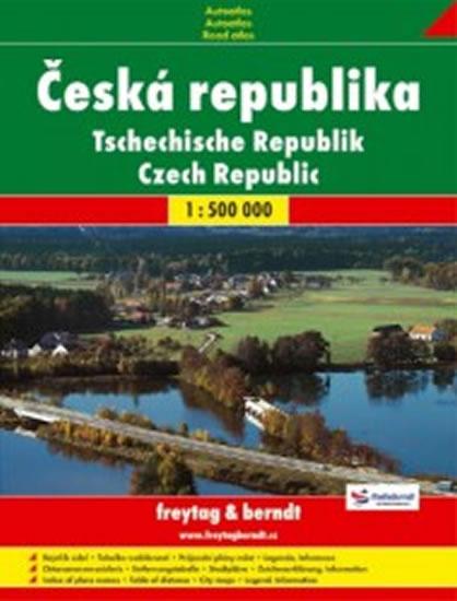 ČESKO AUTOATLAS 1:500 000