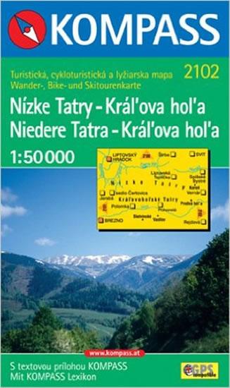 NÍZKE TATRY - KRÁLOVA HOLA 1:50 000