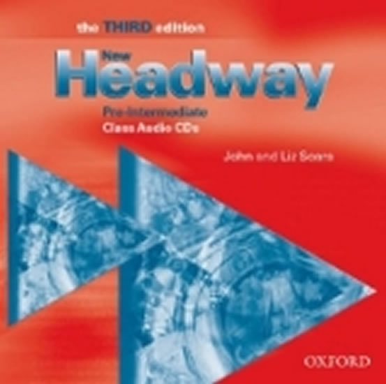 CD NEW HEADWAY PRE-INTER 3ED CLASS/OXFORD