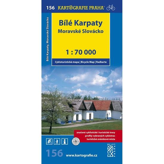 CTM Č. 156 BÍLÉ KARPATY MORAVSKÉ SLOVÁCKO 1:70 000
