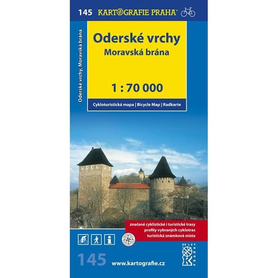 CM145 ODERSKÉ VRCHY - MORAVSKÁ BRÁNA