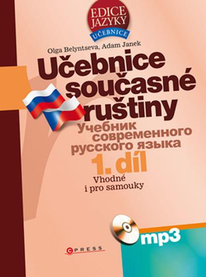 UČEBNICE SOUČASNÉ RUŠTINY +CD 1.DÍL