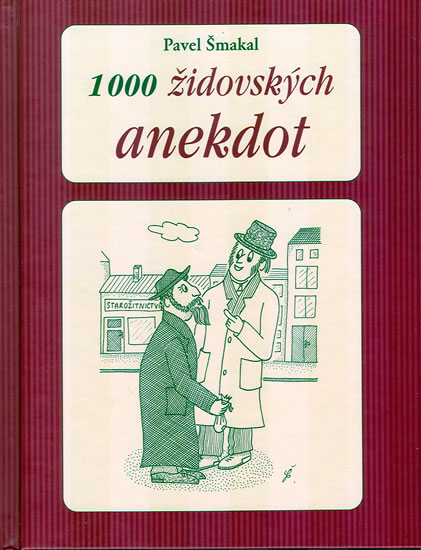 1000 židovských anekdot - Šmakal Pavel