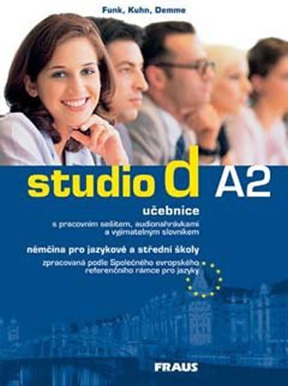 STUDIO D A2 UČEBNICE + CD