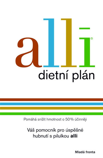 Alli - dietní plán - neuveden