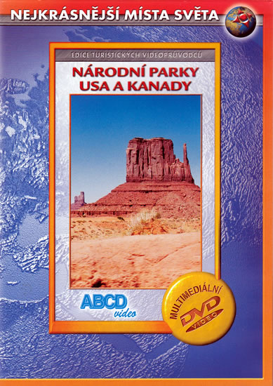 NÁRODNÍ PARKY USA A KANADY DVD