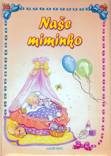 Kniha Naše miminko - 3. vydání  f3cea12dc3