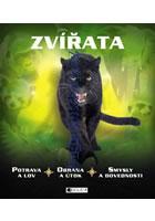 Detail titulu Zvířata - potrava a lov, obrana a útok, smysly a dovednosti