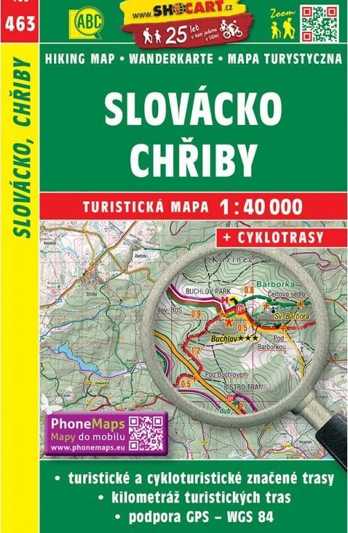 SLOVÁCKO, CHŘIBY 463