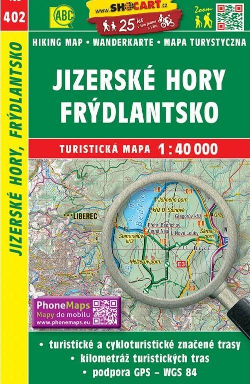 JIZERSKÉ HORY-FRÝDLANTSKO 402-TURIST.