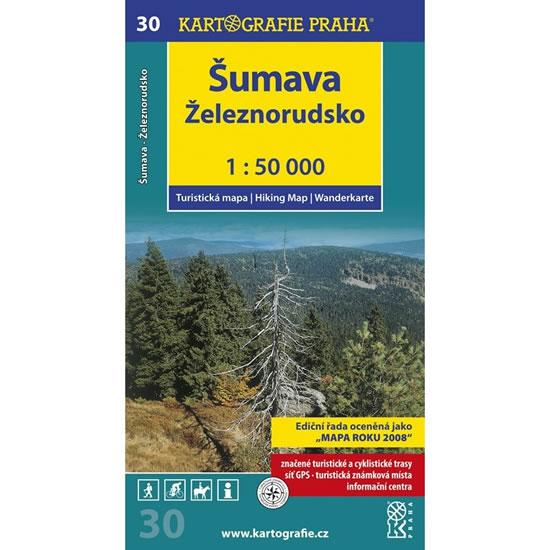 TM30 ŠUMAVA ŽELEZNRUDSKO 1-50000