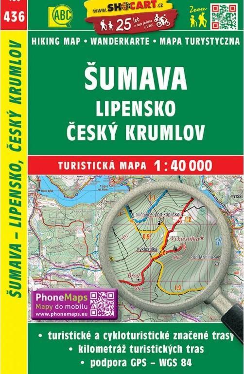 ŠUMAVA LIPENSKO ČESKÝ KRUMLOV TM 436
