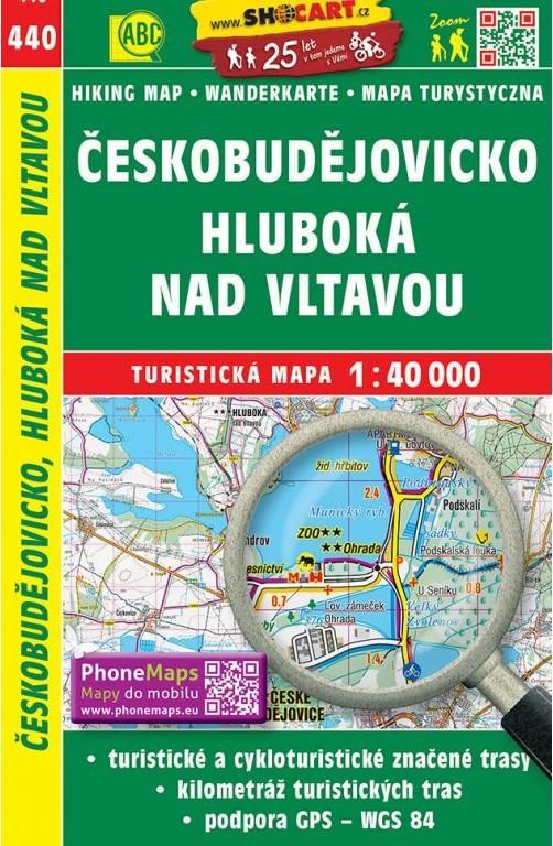 ČESKOBUDĚJOVICKO HLUBOKÁ NAD VLTAVOU TM 440