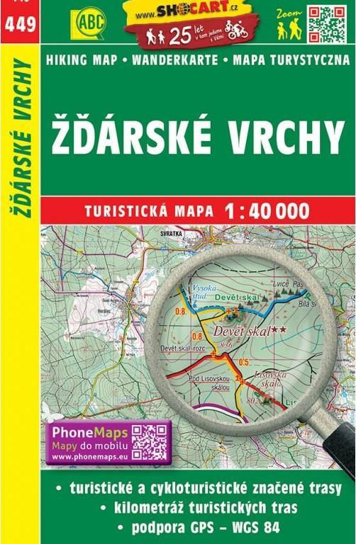 ŽĎÁRSKÉ VRCHY TM449