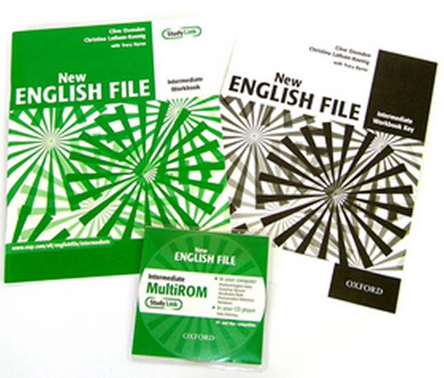 NEW ENGLISH FILE INTERMEDIATE WB+CD
