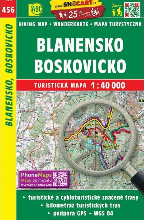 ST 456 Blanensko, Boskovicko 1:40T